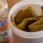 昆布と大豆