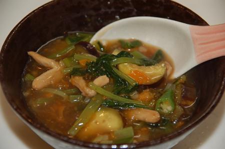 野菜たっぷり中華あんかけ丼
