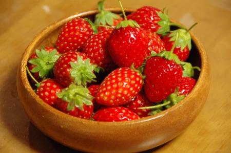 有機イチゴ
