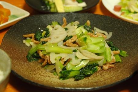 ターサイの炒め物