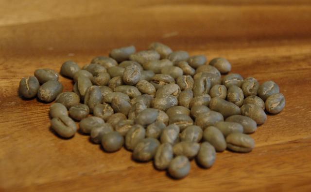 コーヒー生豆のピーベリー