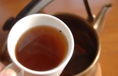 タヒボ茶のできあがり