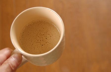ギーでつくったバターコーヒー