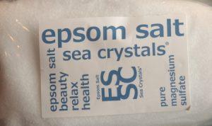 エプソムソルトの商品パッケージ