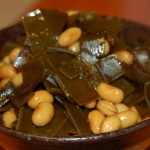 大豆と昆布の煮物