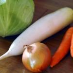 ③食前の生菜食