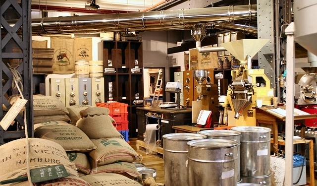 コーヒー豆専門点