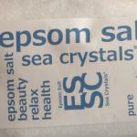 エプソムソルトは天然の入浴剤&下剤