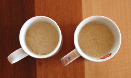 ゼラチンでつくったバターコーヒーゼリー