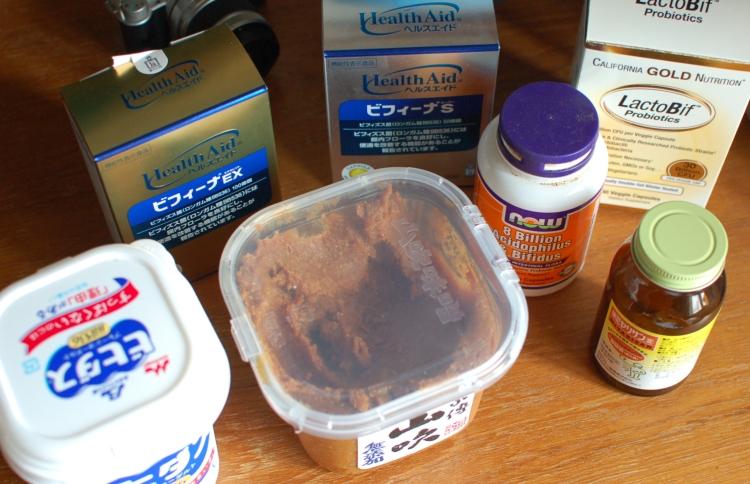 乳酸菌食品とサプリ