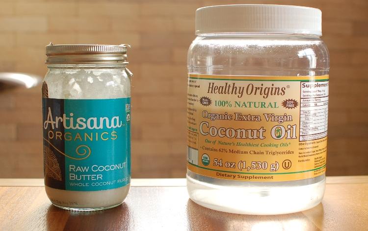 ココナッツオイルとココナッツバター