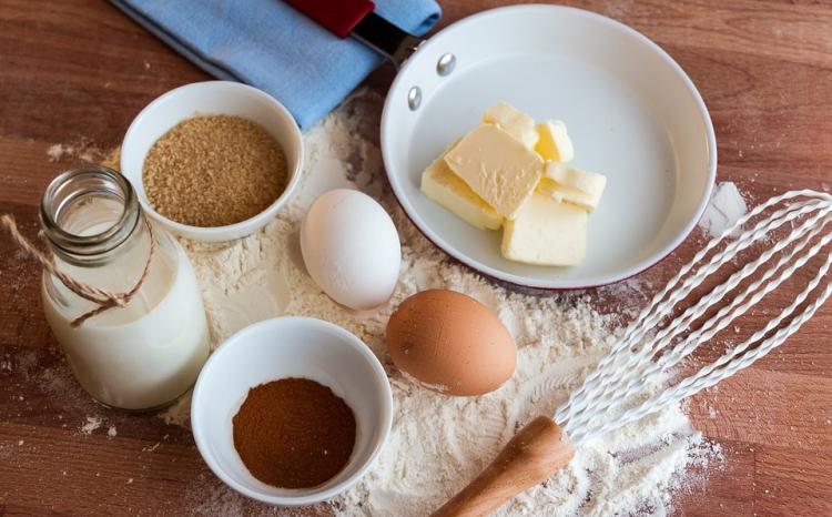 卵とチーズ