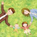 赤ちゃんと子どもと両親