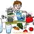 アトピーにいい飲み物の水と野菜ジュース、青汁、グリーンスムージー、ニンジンリンゴジュース、ハーブティーをつくる男